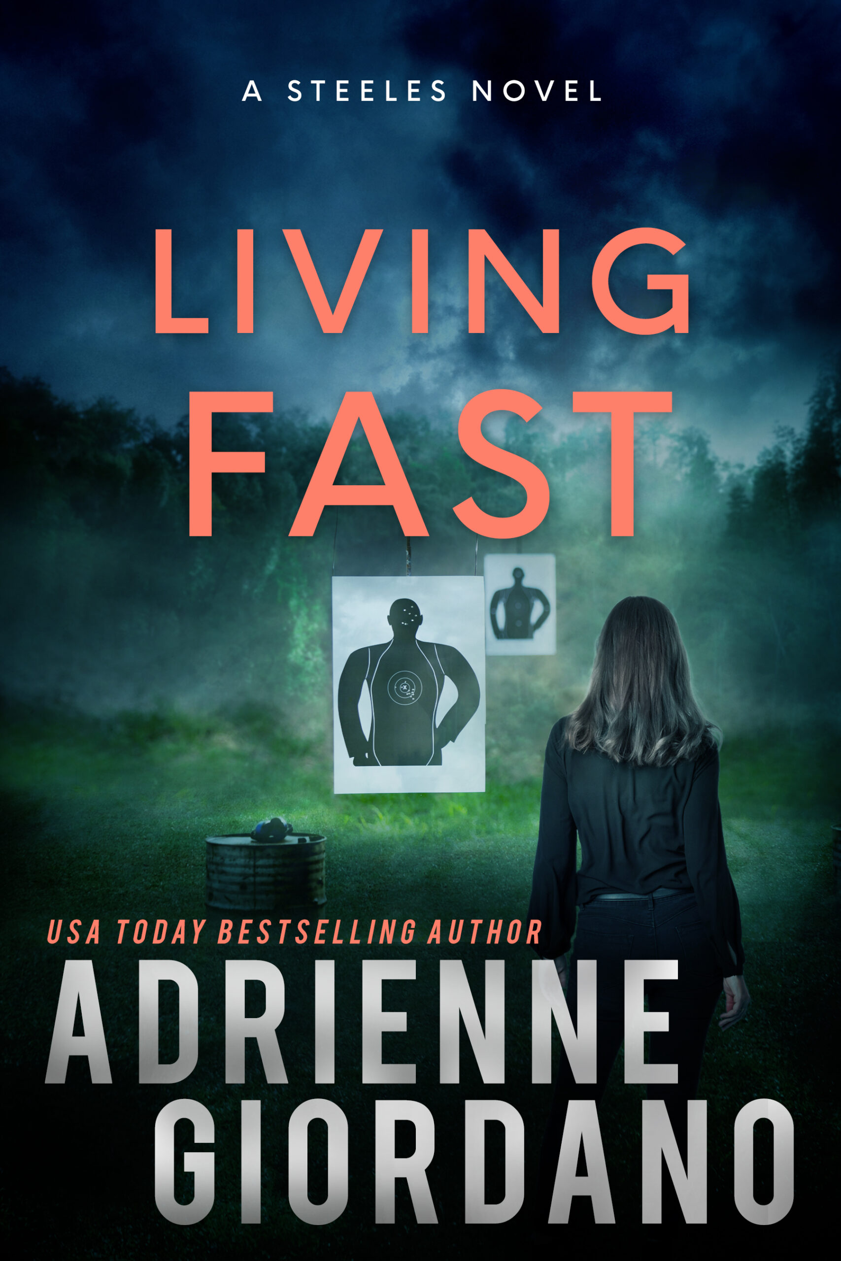 Cover of Living Fast by Adrienne Giordano