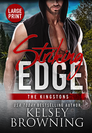 Striking Edge by Kelsey Browning cover