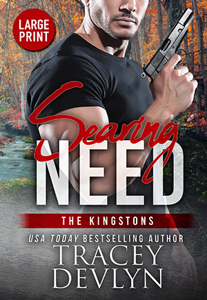 Searing Need by Tracey Devlyn cover