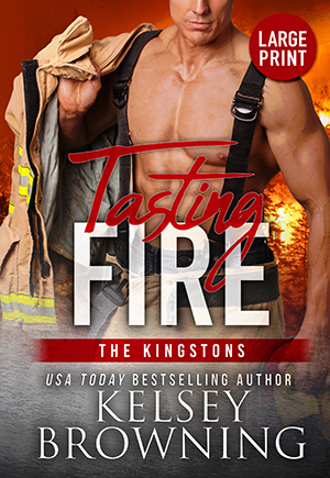 Tasting Fire by Kelsey Browning cover