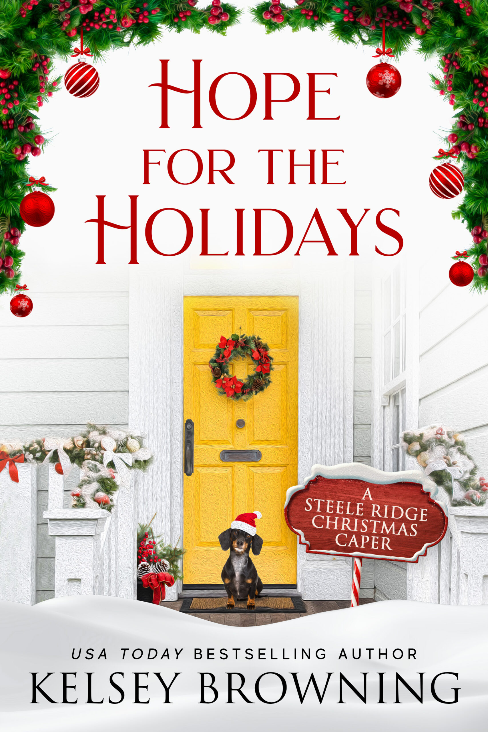 Hope for the Holidays by Kelsey Browning cover