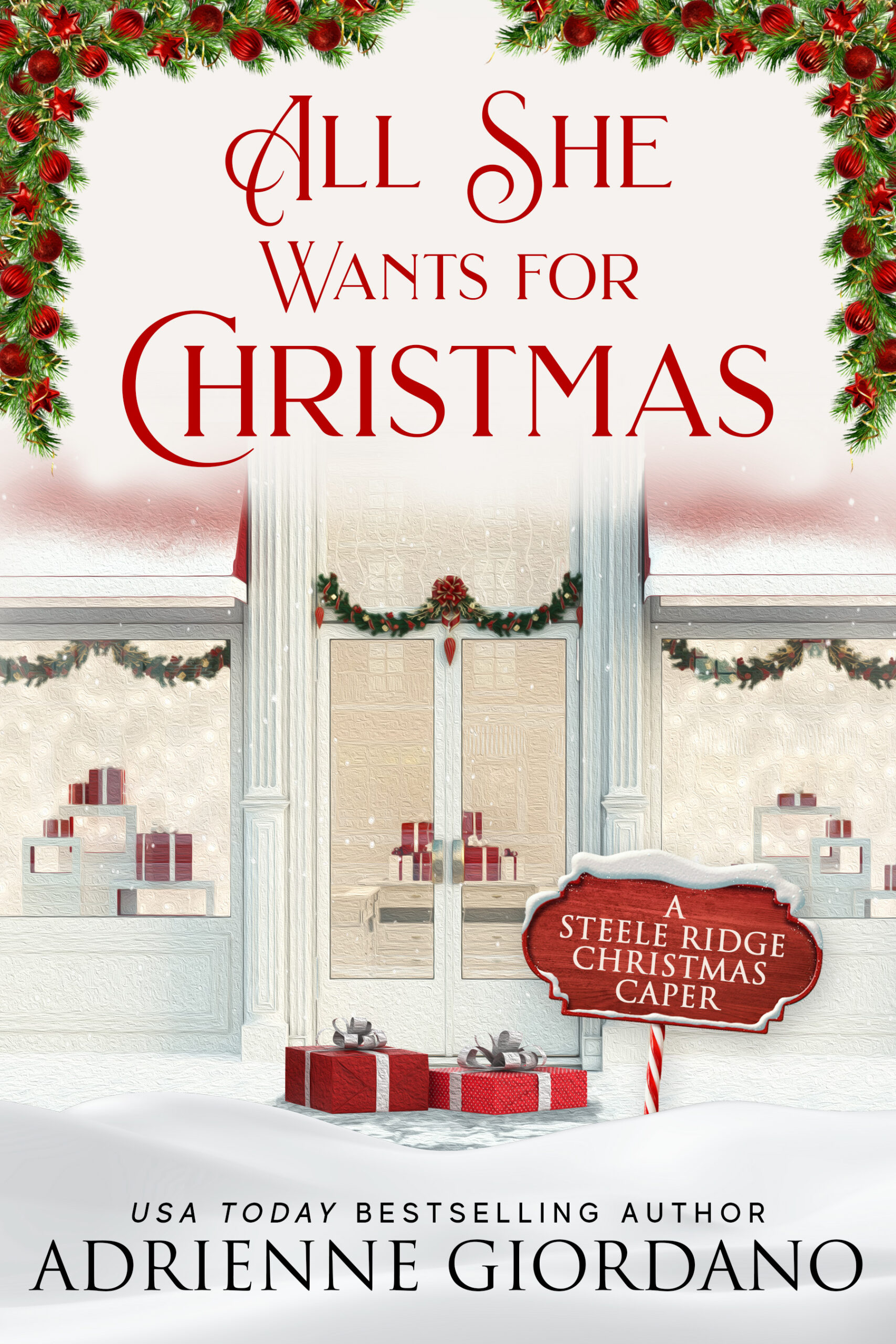 All She Wants for Christmas by Adrienne Giordano cover