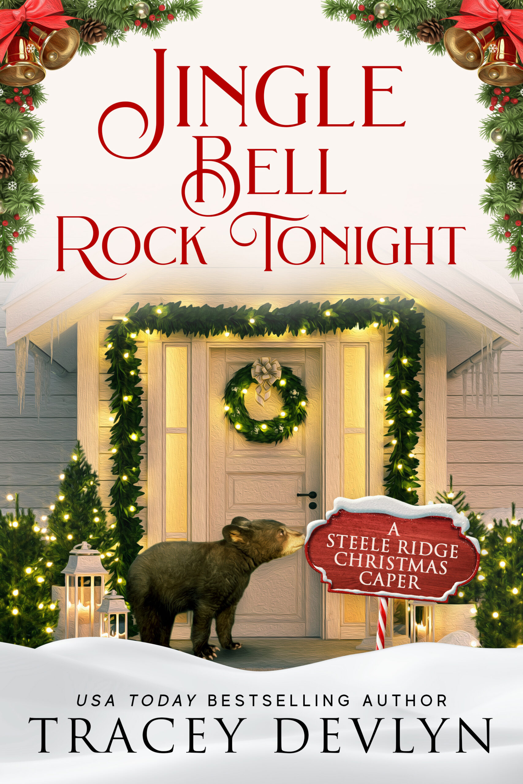Jingle Bell Rock Tonight by Tracey Devlyn cover